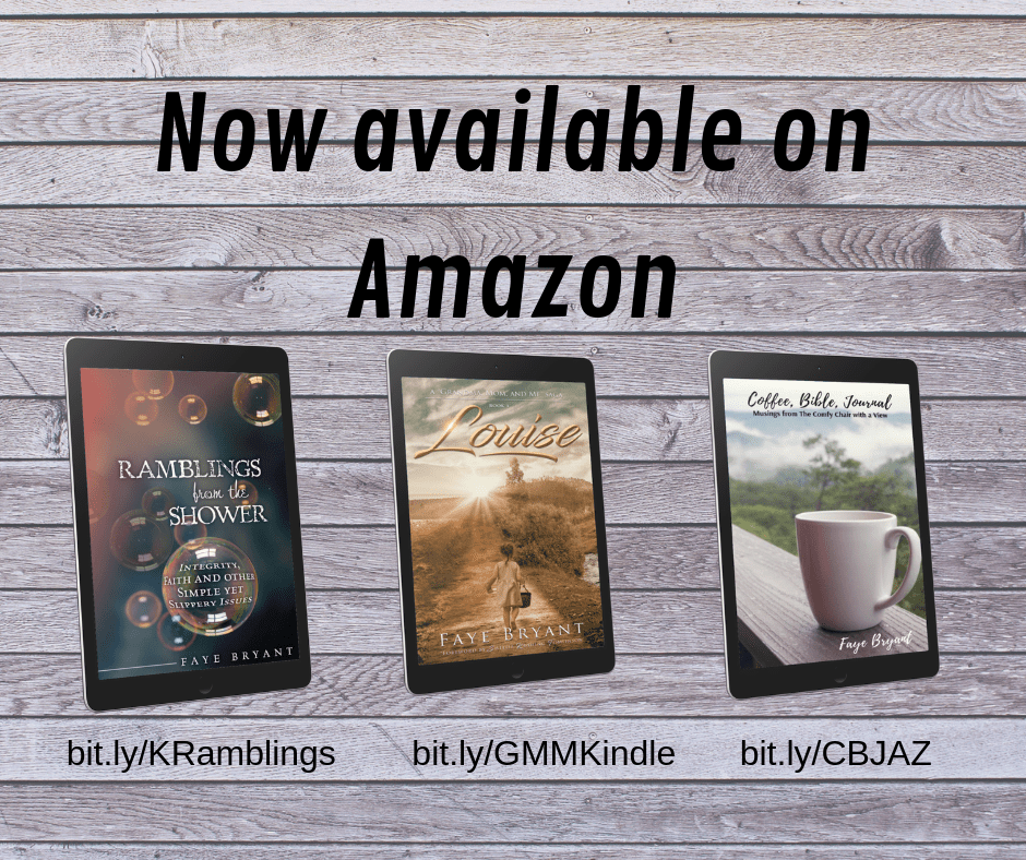 Faye Bryant's ebooks available on Amazon