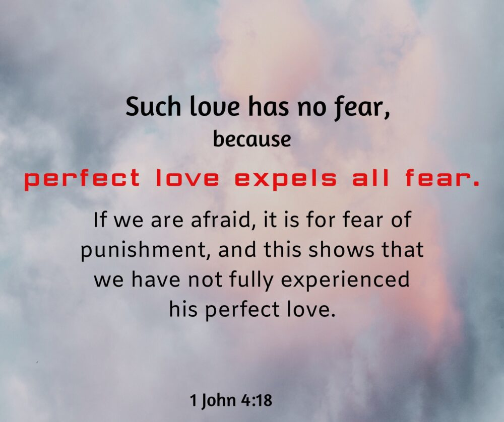 Does your love look like God's perfect love?