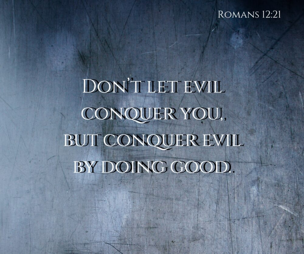 Don't be conquered