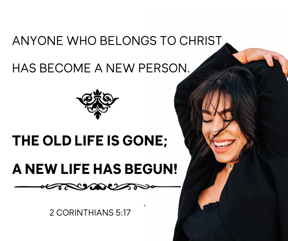 Become a new person today!